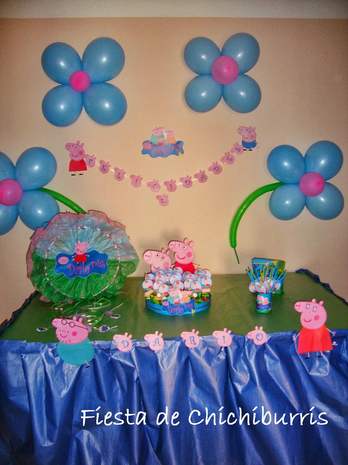Decoracion para cumpleanos de pepa pig decoracion - Decoracion fiestas cumpleanos ...