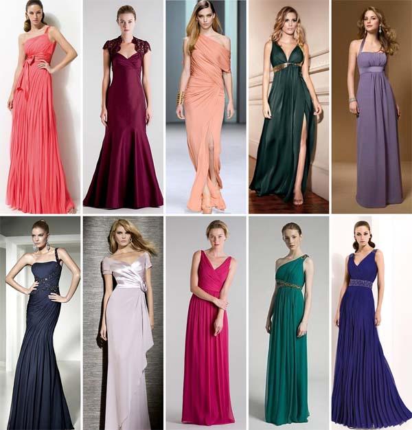Confira Aqui Fotos De Vestidos Para Madrinhas De Casamento Moda 2013