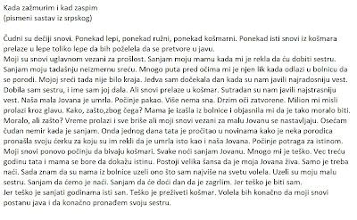 Sastavi iz srpskog, Author: topic: sastavi iz srpskog (read 790593