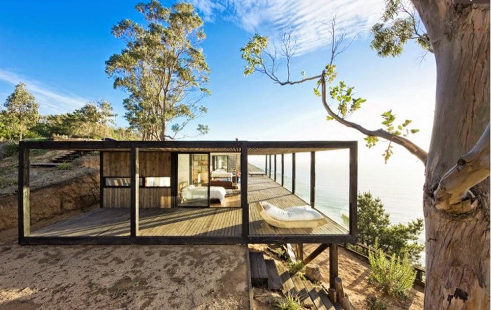 casa privada en la playa