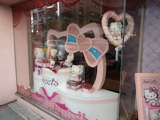 Hello Kitty Cafe, Hello Kitty restaurant, Hello Kitty theme