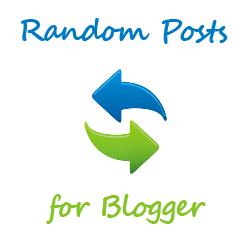 Ways Add Random Posts Button In Blogger Blog