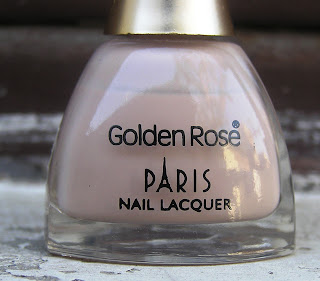 Golden Rose PARIS NAIL LACQUER packaging