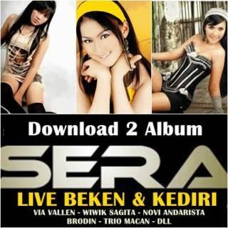 koleksi 2 album OM sera live Kediri dan Sera live Beken