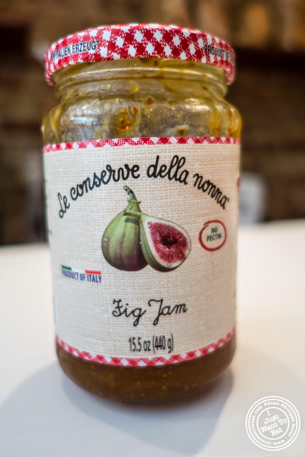 image of Italian fig jam at Verde Vita Toscana in Hoboken, NJ