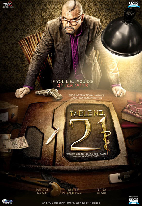 Table No. 21 - Poster (2013)
