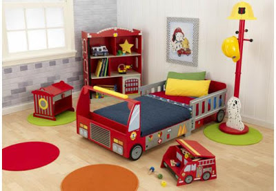 Firefighter Themed Furniture