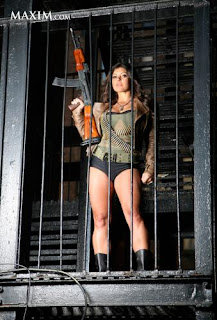 Michelle Viscusi, Military police, Military police officer, Military, police, The History Channel, Top Shot, Model