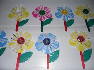 Flores para lembrancinha