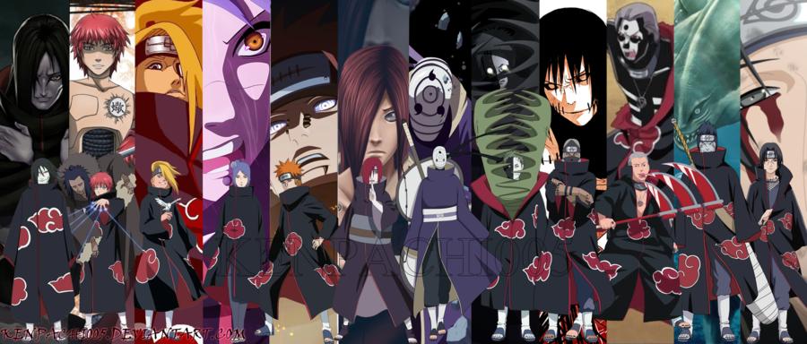 Naruto shippuden akatsuki for 5 principales villas ocultas naruto