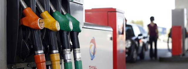 Baisse des prix du gasoil et de l'essence super ( 2 Nov 2015)