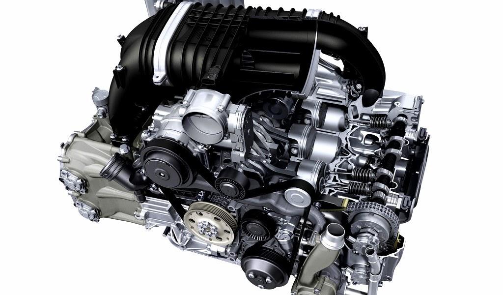 2014 Porsche 911 GT3 Engine Wallpaper