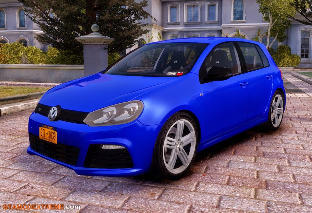 Download Carro Volkswagen Golf R 2010 Para GTA IV