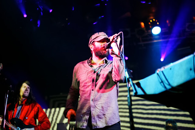 Christian Bland and Alex Maas of The Black Angels