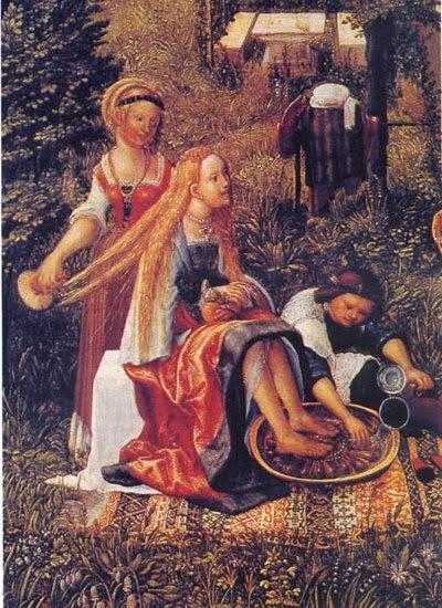 'Dames', gravat de l'època