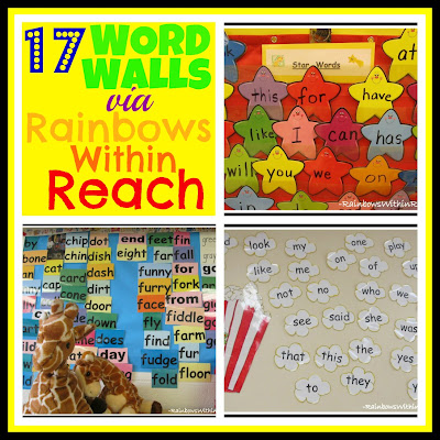 photo of: http://rainbowswithinreach.blogspot.com/2012/07/classroom-crashing-word-walls.html
