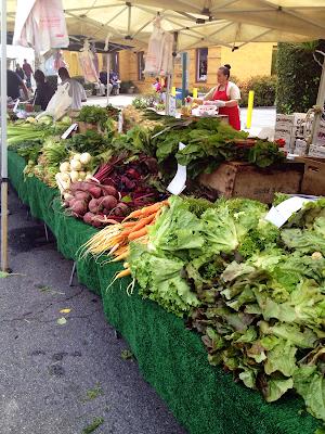 fresh organic local vegetables