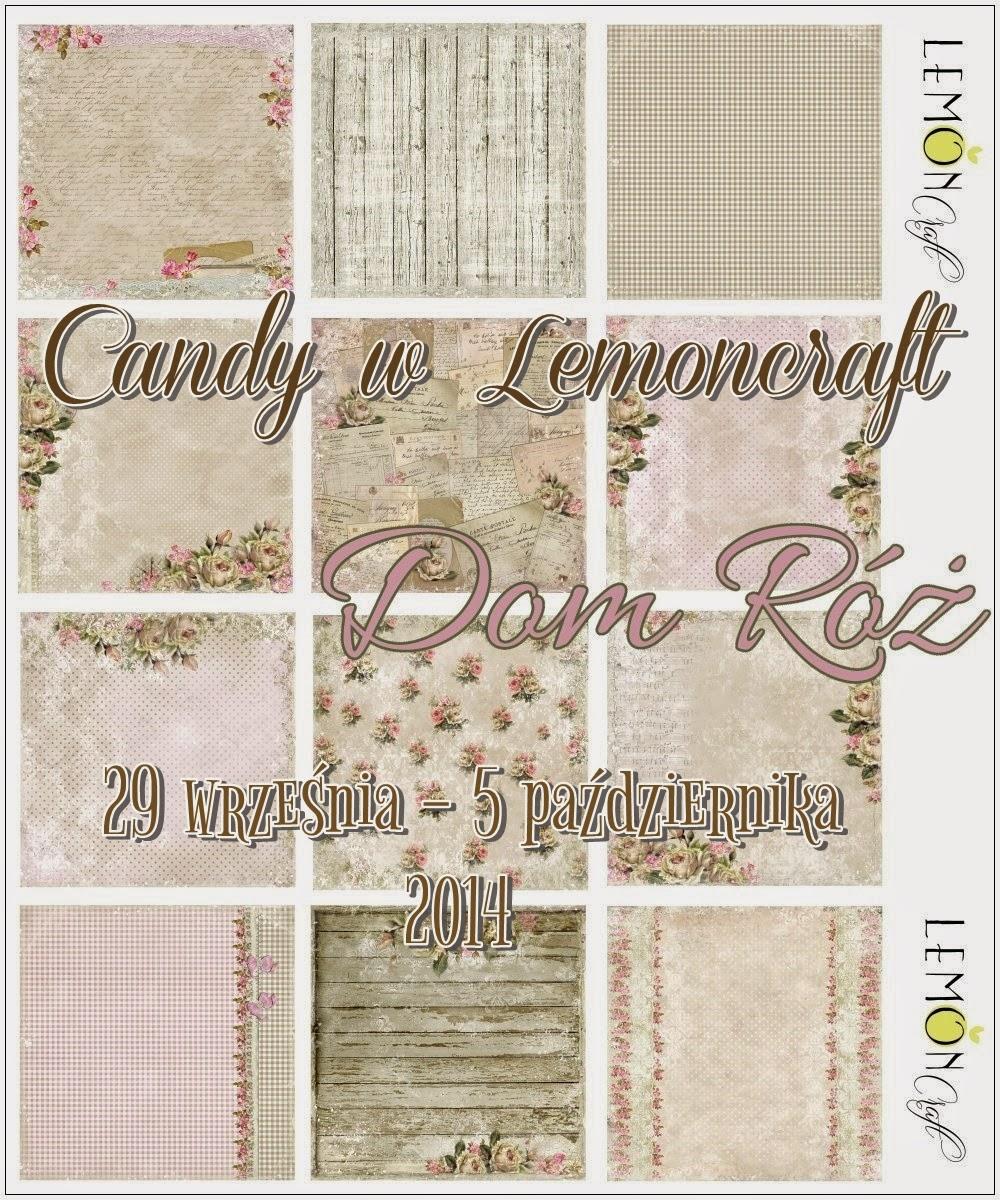 """najnowszą kolekcję """"Dom Róż"""". Bardzo romantyczna, spójna kolorystycznie, pełna ciepłych kolorów oraz kwiatowych wzorów - idealnie sprawdzi się zarówno w albumach, layoutach jak i podczas tworzenia kartek okolicznościowych."""