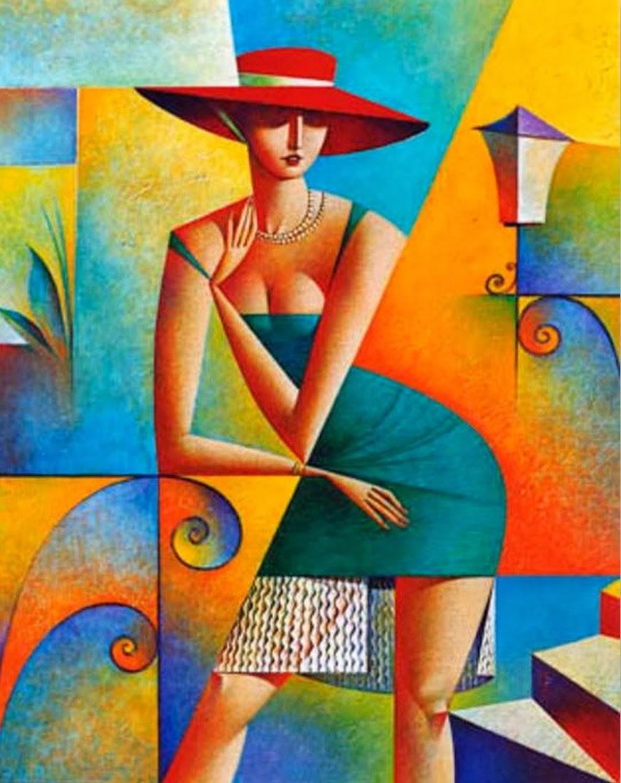Cuadros modernos pinturas y dibujos cubismo pinturas for Definicion de pintura mural