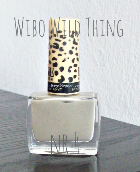 Wibo Wild Thing nr 4 (bez posypki)