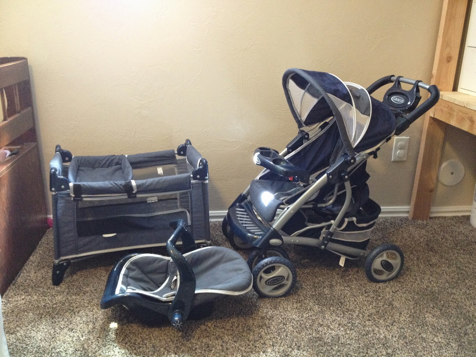Great Items for Sale!: SOLD--Graco Doll Deluxe Travel Set - $30
