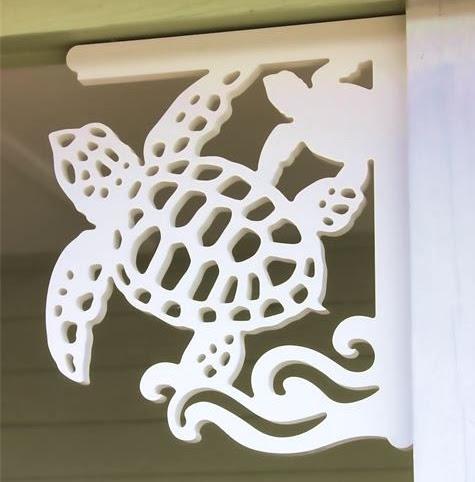 decorative brackets with a coastal theme by island creek. Black Bedroom Furniture Sets. Home Design Ideas