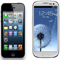 Apple iPhone versus Samsung Galaxy