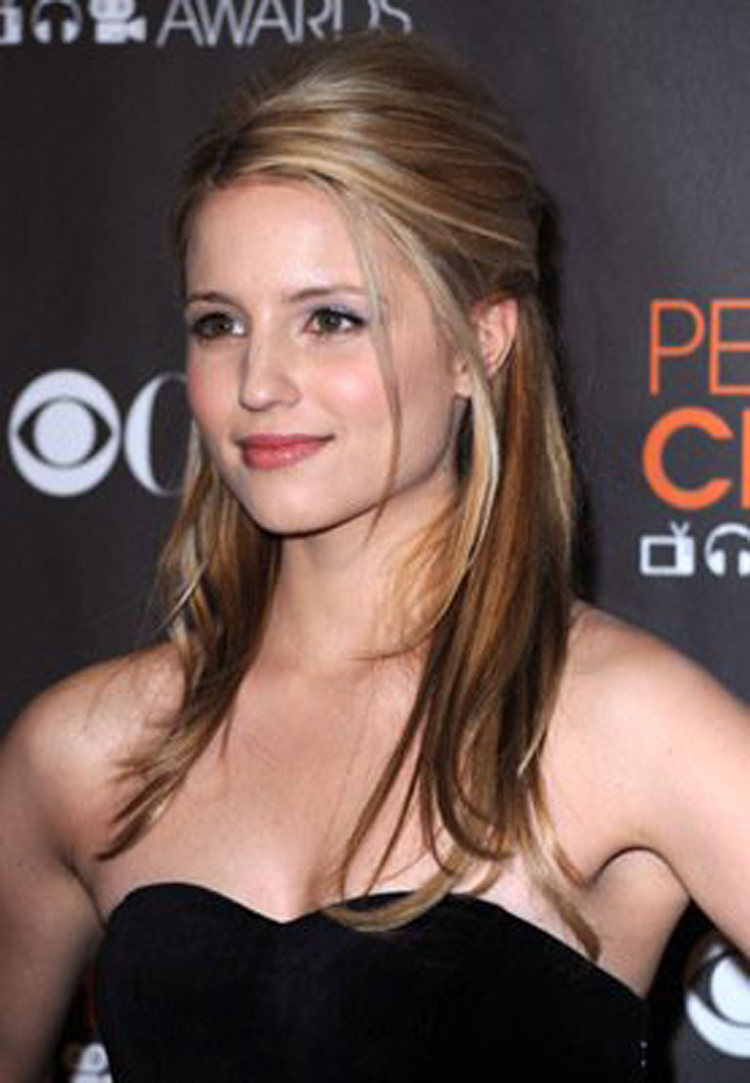 Fresh Look Celebrity Dianna Agron Hairstyles 33