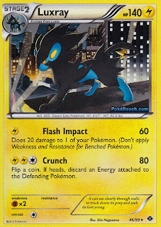 Luxray Next Destinies Pokemon Card