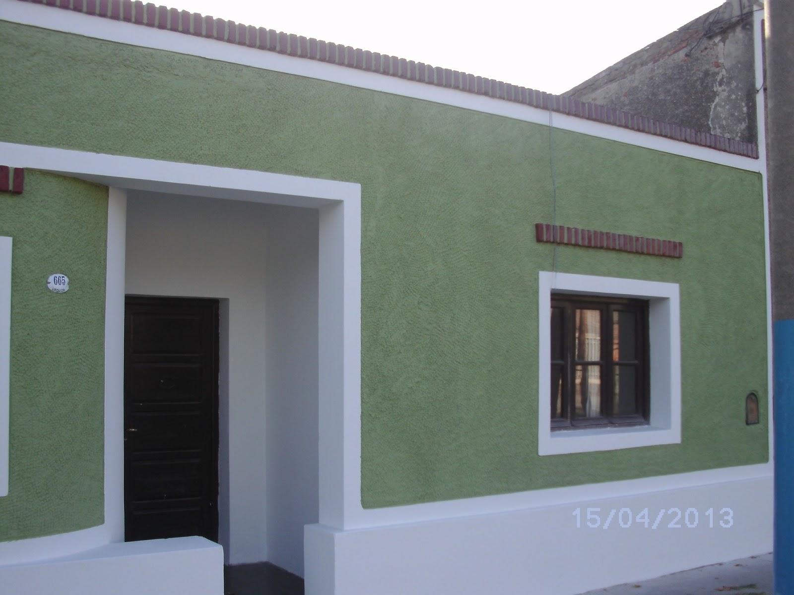 Restauraciones pinturas cartelerias pintura frente de - Pinturas para fachadas de casas ...