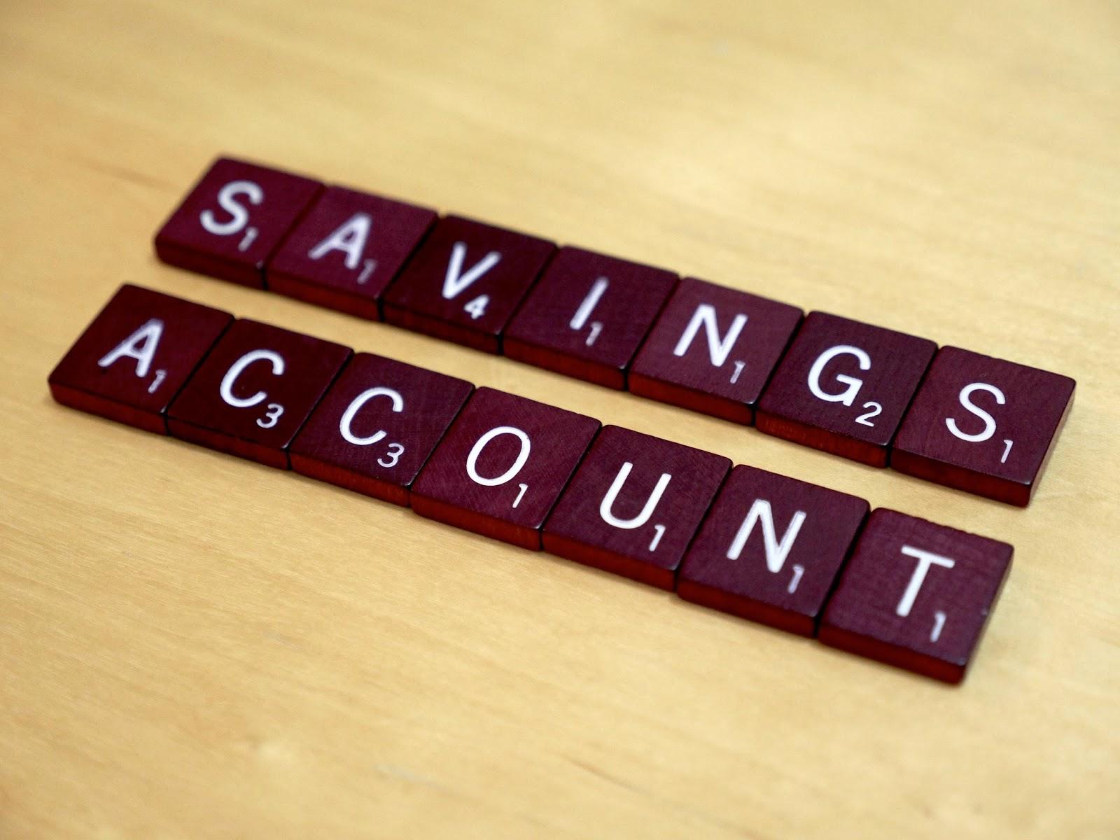 Savings account, why?