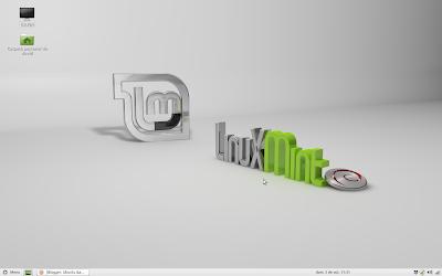 Escritorio Linux Mint Debian Edition