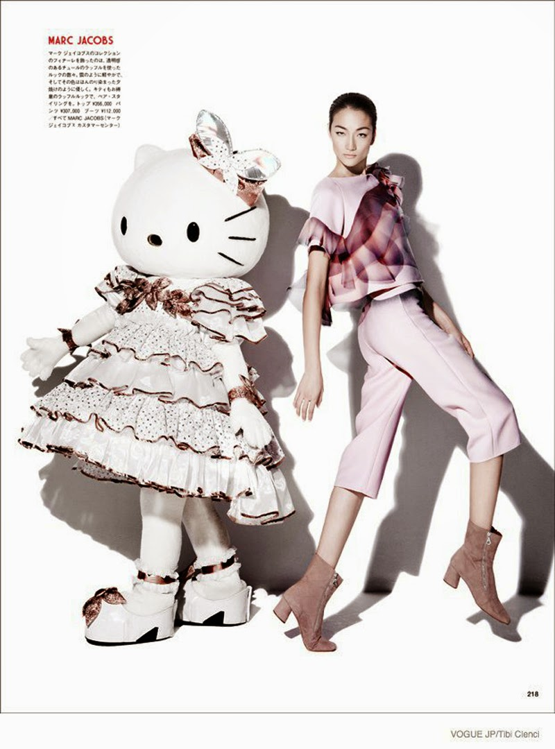 Hello Kitty Vogue Japon