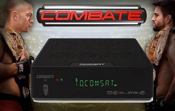 ATUALIZAÇÃO TOCOMSAT COMBATE HD - V1.004 - 29/03/2015
