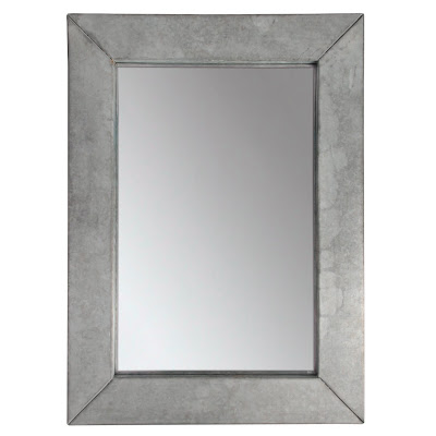 From gardners 2 bergers faux zinc mirror laminate mirror for Zinc laminate