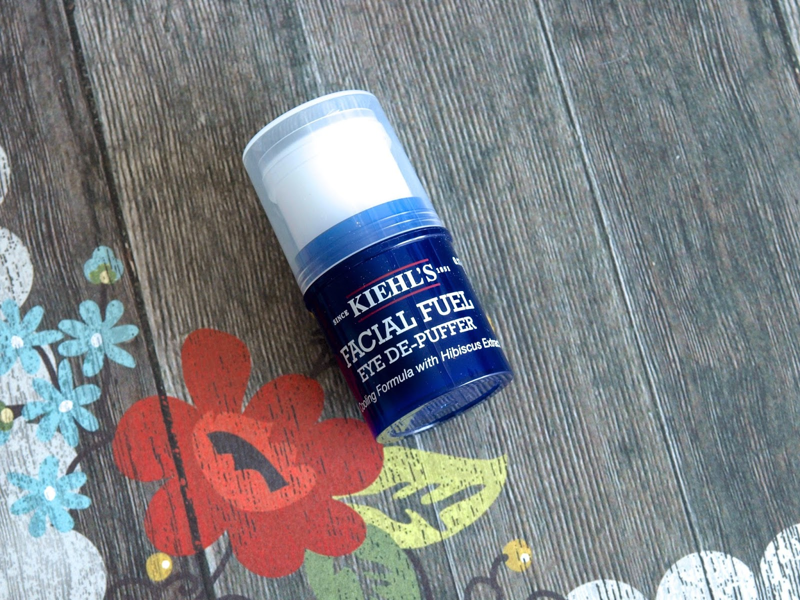 Kiehl's Facial Fuel Eye-Depuffer: Review