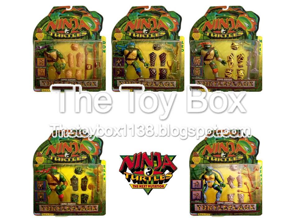 The Ninja Turtles Next Mutation Toys : The toy box ninja turtles next mutation teenage