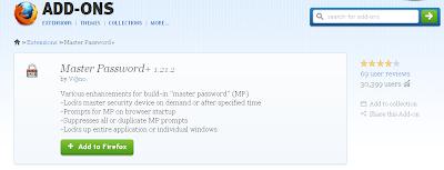 Cara Memberi Password Pada Browser Mozilla Firefox, Cara Mengunci Mozilla Firefox Dengan Password
