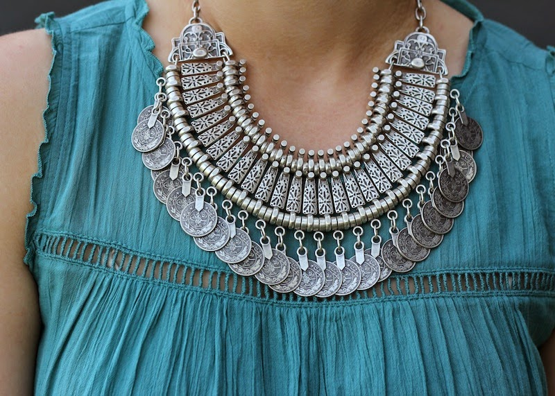 Shae Roderick Coin Necklace Outfit