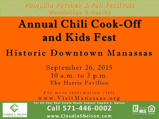Pumpkin Patches near Woodbridge Virginia 2015, Manassas Annual Chili Cook-off and Kids Fest
