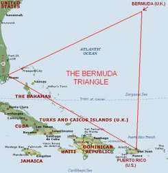 Foto Gambar Unik Segitiga Bermuda