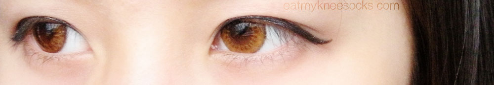 More photos of the Lenspop Bunny Color Brown ulzzang circle lenses from Klenspop.