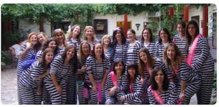 Despedidas en Aranjuez, juego de prisioneros, cenas de despedidas