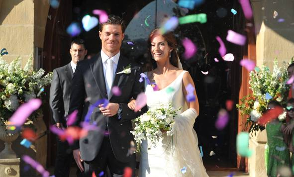 Xabi Alonso Wedding Xabi Alonso and Nagore...