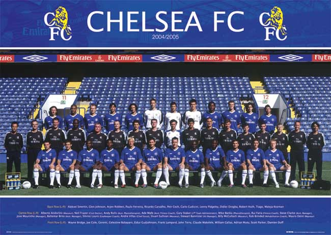 The first manager was John Roberson (1905-1906). Chelsea won the ...