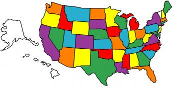 Where We've Been (45 out of 50 States)...Where We Are!
