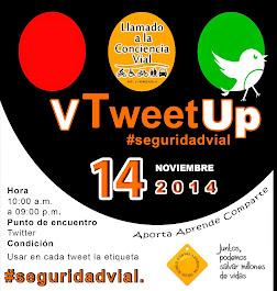 V Tweet Up de #Seguridadvial