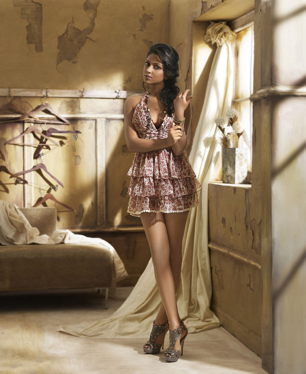 Amala Paul Calendar Pic1 - Amala Paul Venkatram 2012 Calendar Hot Photoshoot
