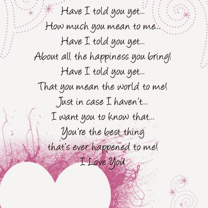 Happy Valentines day Poems 2015