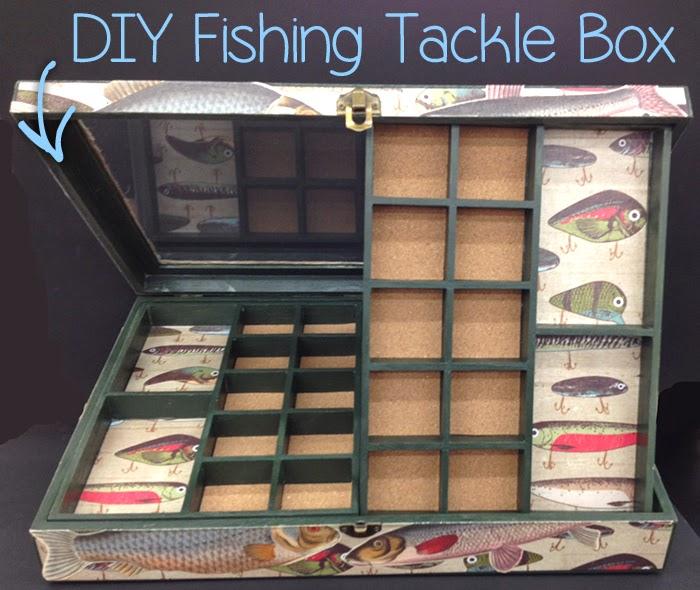 DIY Fishing Tackle Box